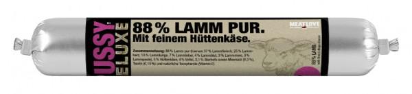 100g Lamm pur mit feinem Hüttenkäse - mousse