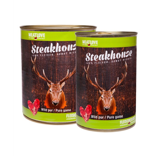 Steakhouse 100 % Wild pur