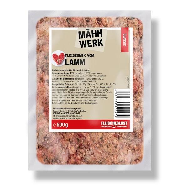 500g Fleischmix vom Lamm
