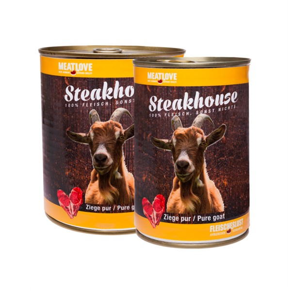 Steakhouse 100 % Ziege pur
