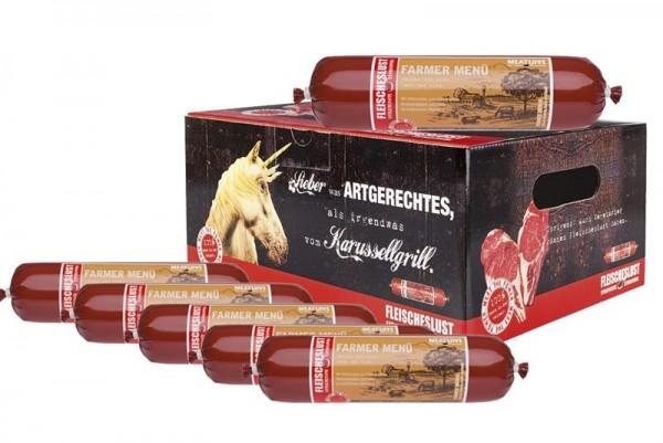 Futterbox: 5x800g Farmer Menü + 1x GRATIS
