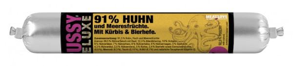 100g Huhn & Meeresfrüchte mit Kürbis & Bierhefe - mousse